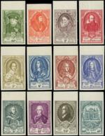 BELGIQUE Poste (*) - 880/91, Complet 12 Valeurs Non Dentelés, Bdf, Numérotées: Congrès UPU (Cob) - Cote: 450 - Belgique