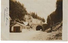 Vosges Tunnel De BUSSANG Frontière  (1904 Rarissime) - Bussang