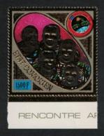 Comoro Is. Soyuz - Apollo USSR-USA Space Flight 1v GOLD Foil MNH MI#255A - Komoren (1975-...)