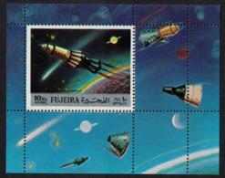 Fujeira Space Exploration MS MNH MI#Block 102 - Fujeira
