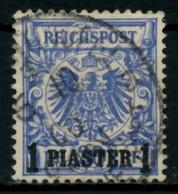 DAP TÜRKEI Nr 8d Zentrisch Gestempelt Gepr. X713BDE - Deutsche Post In Der Türkei
