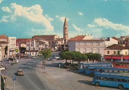 CITROEN DS 21-23-AUTO-CAR-VOITURES-COCHE-CAORLE-VENEZIA-ITALY-CARTOLINA VERA FOTOGRAFIA-VIAGGIATA NEL 1963 - Turismo