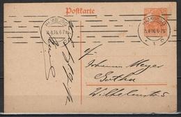 DR GS P110 Von Hamburg Nach Gotha 15.8.1916 - Alemania