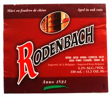Rodenbach Beer Label - Bière