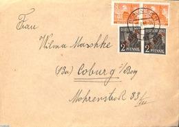 Germany, Berlin 1949 Cover From Berlin To Coburg, (Postal History) - [5] Berlin
