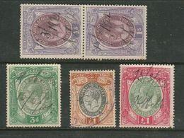 S.Africa, Revenue GVR,  1913 3d, 1/=, £1; 1931 £1, Used - Afrique Du Sud (...-1961)