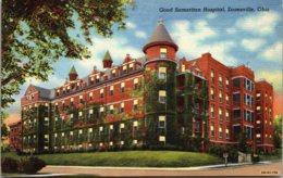 Ohio Zanesville Good Samaritan Hospital Curteich - Zanesville
