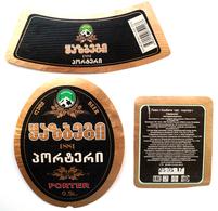 Kazbegi Beer Label Georgia - Bier