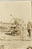 PHOTO FRANCAISE - CANON CONTRE AVIONS DU 51e RAC A ATTICHY PRES COMPIEGNE OISE - GUERRE 1914 1918 - 1914-18