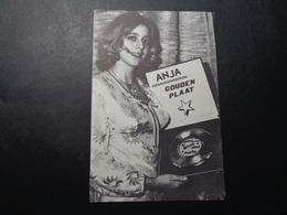 Artiste ( 850 )  Artiest Zangeres  ( Geen Postkaart , Blanco Op Achterkant )  :   Anja - Chanteurs & Musiciens
