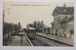 Cpa Chaville Velizy Interieur De La Gare - VT02 - Chaville