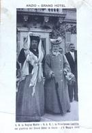 Famiglia Reale Italiana. La Regina Madre, La Principessa Laetitia Al Grand Hotel In Anzio 1908 - Non Classés