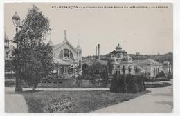 BESANCON - N° 42 - LE CASINO DES BAINS SALINS DE LA MOUILLERE - LES JARDINS - CPA NON VOYAGEE - Besancon