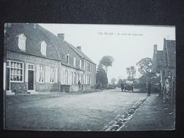 59 , Millam ,la Route De Lederzeele En 1924...........pas Courante - Francia