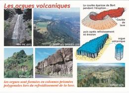 Volcans Du Massif Central - Orgues Volcaniques - Vues Diverses - Bort (19) Ray-Pic (07) Espaly (43) St-Flour Carlat (15) - Auvergne