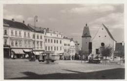 AK - Tschechien - ZNAIM - Alter Autobus Am Masarykplatz - Feldpost 1939 - Tschechische Republik