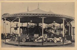 AK - Altes Ringelspiel (Karussell) - 30iger Jahre - Zirkus