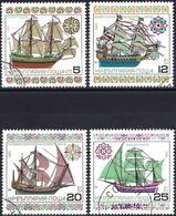 Bulgaria 1985 - Mi 3408/11 - YT 2958/61 ( Historic Ships ) - Oblitérés