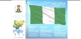 POSTAL   BANDERA DE NIGERIA - Otras Colecciones