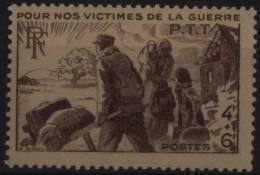 N° 737 - X X - ( F 224 ) - ( Pour Nos Victimes De La Guerre ) - Frankreich