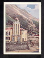 "1960.USSR. Postcard.Azerbaijanskaya SSR. Resort """"Isti-Su"""". Painter S. Sokolov. VIII-598 - Health"