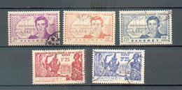 DAH  320 - YT  110 à 112  - 113 à 114 ° Obli - Dahomey (1899-1944)