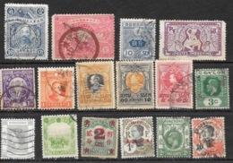 Lot Vrac 140 Timbres Asie Du Sud-Est (Siam, Indochine, Laos, Japon, Viet-Nam, Chine, Ceylan...) Oblitérés - Postzegels