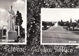 0069 - PATERNO' GIARDINO PUBBLICO - 2 VEDUTE - Andere Steden