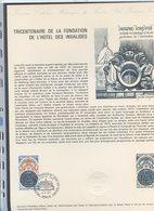 Collection Historique Du Timbre-poste - TTB - Ref.0059 - TRICENTENAIRE DE LA FONDATION DE L HOTEL DES INVALIDES - Frankreich