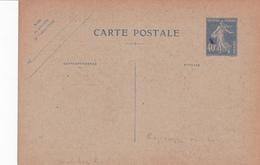 Carte Semeuse Camée 40 C Outremer Neuve Repiquage Pitt Et Scott - Bijgewerkte Postkaarten  (voor 1995)