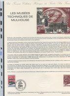 Collection Historique Du Timbre-poste - TTB - Ref.0078 - LES MUSEES TECHNIQUES DE MULHOUSE - Francia