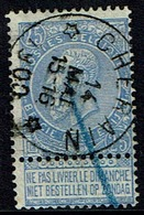 60  Obl Relais Cherain + 15 - 1893-1900 Schmaler Bart