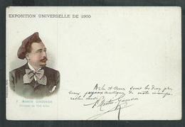 Pub Chicorée La Ménagère Duroyon Et Ramette Cambrai (Nord) Expo Universelle De 1900 Paris; Martin Ginouviers  Arles - Expositions