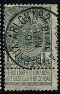 53  Obl  Ambt BXL- Arlon 2  + 15 - 1893-1907 Coat Of Arms