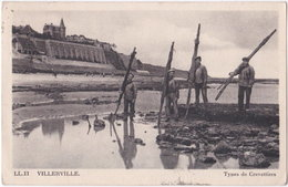14. VILLERVILLE. Types De Crevettiers. 11 - Villerville