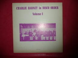 LP33 N°543 - CHARLIE BARNET IN DISCO ORDER - VOL.1 -  COMPILATION 12 TITRES - Jazz