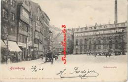 Hamburg - Schaarmarkt - 1906 - Allemagne