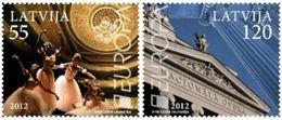 LATVIA - LETTLAND - LETTONIE - LETONIA - LETTONIA EUROPA CEPT VISIT MNH 2012 - 2012