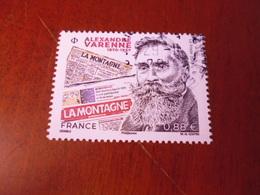OBLITERATION CHOISIE  SUR TIMBRE NEUF  ALEXANDRE VARENNE - France
