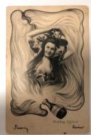 1902 Boldog Ujevet   Ch. Scolik Wien Art Deco - Scolik, Charles