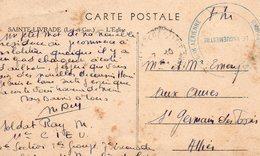 """CP - Cachet : """" Région Aérienne Compagnie Des Engl..""""- Sainte Livrade  - - Marcophilie (Lettres)"""