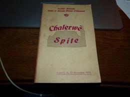 CB15 LC210 Recueil De Chants  Chalerwè Spite  Wallon  Cerke Et Théyâte Walons D'Charlerwè - Livres, BD, Revues