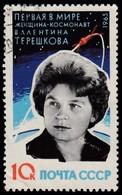RUSSIA - Scott #2753 Valentina Tereshkova / Used Stamp - Oblitérés