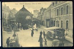 Cpa Du 53 Craon Place Des Halles     Dec19-32 - Craon