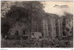 BLAYE - La Citadelle. Ruines Du Château Caribert. Carte écrite En 1920. 2 Scans. TBE - Blaye