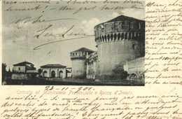 Entrata Al Manicomio Provinciale E Rocca D'Imola RV Timbre Cachet - Bologna
