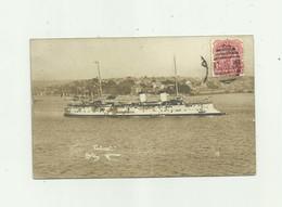 BATEAU - CP PHOTO - LE CATINAT - Croiseur Pris En Photo A Sydney Bon état - Guerre