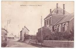 Guillemont , Ecole Et Mairie - Francia