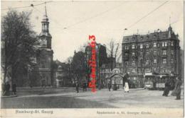Hamburg - St. Georg - Spadenteich U.St.Georger Kirche - Allemagne