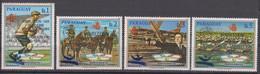 Paraguay 19.09.1989 Mi # 4400-03Barcelona Summer Olympics, Tennis MNH OG - Verano 1992: Barcelona